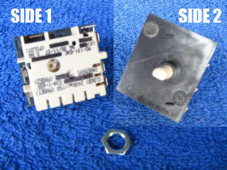 0534001655 Stove Cooktop Switch Control - Simpson, Westinghouse