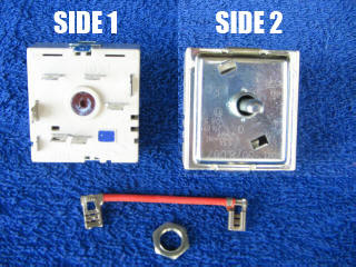 7405 Stove Cooktop Switch Control - Simpson, Westinghouse